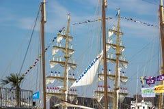 Port Amsterdam Holandia, holandie,/- Sierpień 23-08-2015 Fotografia Royalty Free