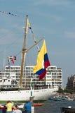 Port Amsterdam Holandia, holandie,/- Sierpień 23-08-2015 Obraz Stock
