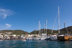 Port Andratx Mallorca Royalty Free Stock Photography