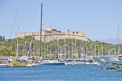 Port of Antibes, France Stock Images