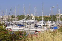 Port of Antibes in France Stock Photos