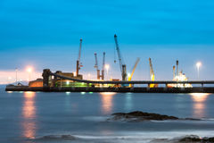 Port of Antofagasta Royalty Free Stock Photo