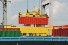 Port of Antwerp Royalty Free Stock Photos