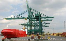Port of Antwerp Stock Photos