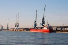 Port of Antwerp Stock Image