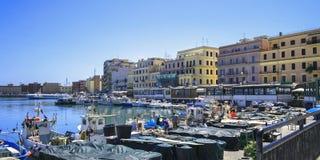 Port Anzio italy Arkivbilder