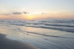 Port Aransas Texas Sunrise photo stock