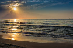 Port Aransas Texas Sunrise Photographie stock