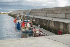 Port in Arco da Calheta Royalty Free Stock Photos