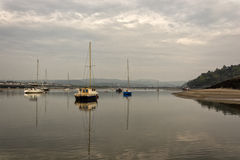 Port area of Conwy, Clwyd, Wales, United Kingdom, Europe Stock Photo
