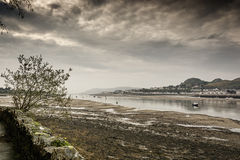 Port area of Conwy, Clwyd, Wales, United Kingdom, Europe Stock Images