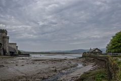 Port area of Conwy, Clwyd, Wales, United Kingdom, Europe Stock Image