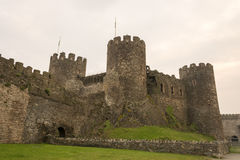 Port area of Conwy, Clwyd, Wales, United Kingdom, Europe Royalty Free Stock Photos