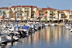 Port of Argelès-sur-Mer in France Royalty Free Stock Photo