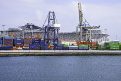 Port in Arrecife Stock Photography