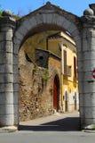 Port'Arsaen i Benevento, Campania, Italien Arkivbilder