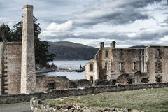 Port Arthur construisant en Tasmanie, Australie Photo stock