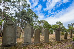 Port Arthur graveyard Royalty Free Stock Photos