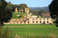 Port Arthur historic ruins. The historic ruins of old penal settlement, Port Arthur, Tasmania royalty free stock photo