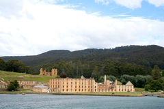 Port Arthur historic site, Tasmania, Australia. Port Arthur (circa 1830) is situated on the Tasman Peninsula, Tasmania, Australia. Created with convict labour Royalty Free Stock Photos