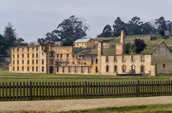 Port Arthur Historyczny miejsce Tasmania Obraz Royalty Free