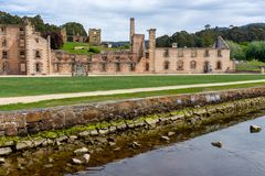 Port Arthur Historyczny miejsce Tasmania, Australia - Fotografia Royalty Free