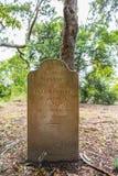Port Arthur gravestones Royalty Free Stock Image