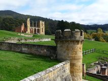 Port Arthur Prison Tasmania Royalty Free Stock Photo