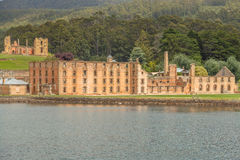 Port Arthur: view from the boat  Stock Image