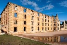 Port Arthur więźnia Dziejowa ugoda, Tasmania, Australia fotografia stock
