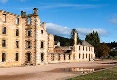 Port Arthur więźnia Dziejowa ugoda, Tasmania, Australia zdjęcie stock