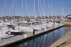 Port of Arzon in France Royalty Free Stock Photography