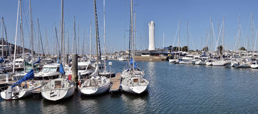 Port of Arzon in France Stock Photo