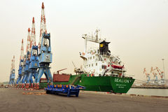 Port Ashdod, Izrael - Zdjęcia Stock