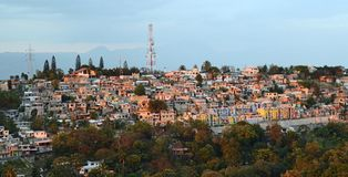 Port-au-Prince-Kommunikationen Stockfoto
