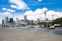 Port in Auckland, NZ Royalty Free Stock Image