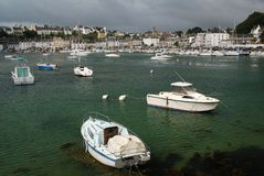 Port Audierne. Small port Audierne in Brittany, France Stock Photography