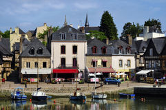 Port of Auray in France Stock Images