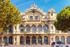 Port Authority Barcelona, España Fotografía de archivo