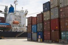 Port Authorrity of Thailand; Bangkok Stock Image