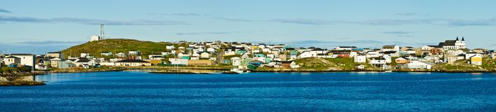 Port aux Basques, Newfoundland Royalty Free Stock Image
