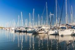 Port av Alcudia Arkivbilder