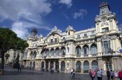 Port av Barcelona Royaltyfri Bild