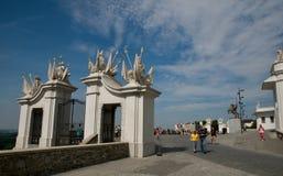 Port av den Bratislava slotten Royaltyfri Fotografi