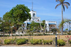 Port av den Cebu staden Arkivfoto