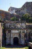 Port av den nya fästningen arkivbilder