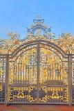 Port av det Catherine slottstaketet i Tsarskoye Selo Royaltyfria Bilder