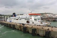 Port av Dover, England Royaltyfria Bilder