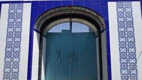 Port av en muslim moské royaltyfria foton