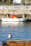 Port av Ferrol arkivbild